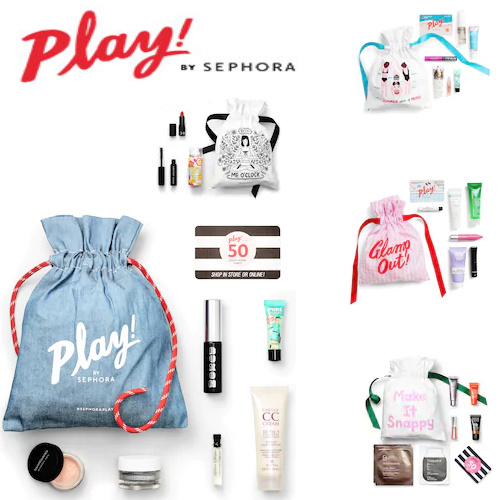 Up to 80% off Sephora Play Boxes : Only $10