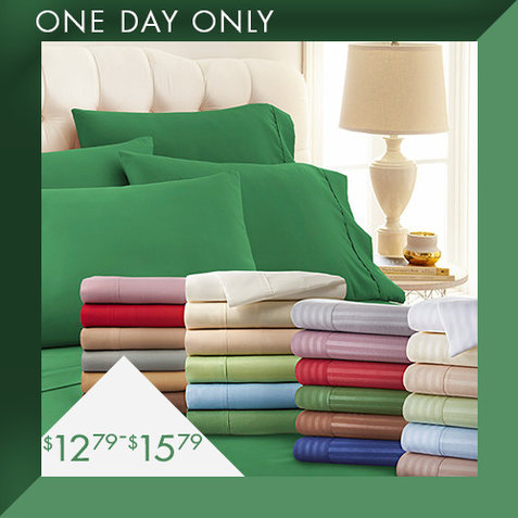 Clearance Sheet Sets : $12.79-$15.79
