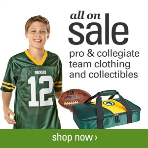 Fan Gear Apparel : 25% off + Free S/H
