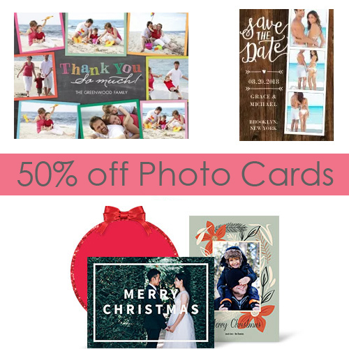 Christmas card coupons