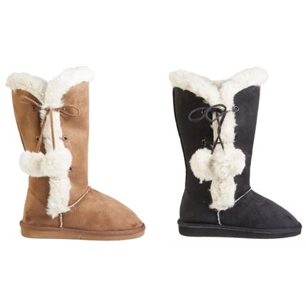 Women's Side-Tie Boots (Size 5/6) : $10.79 + Free S/H