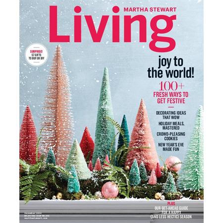 Martha Stewart Living Magazine Subscription : Only $5