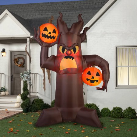 10.5′ Airblown Scary Tree : Only $49