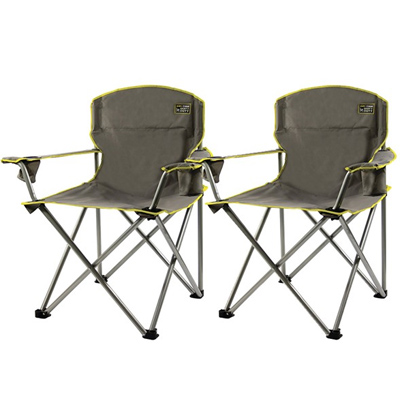 Set of 2 Heavy Duty Camp Chairs : Only $19.99