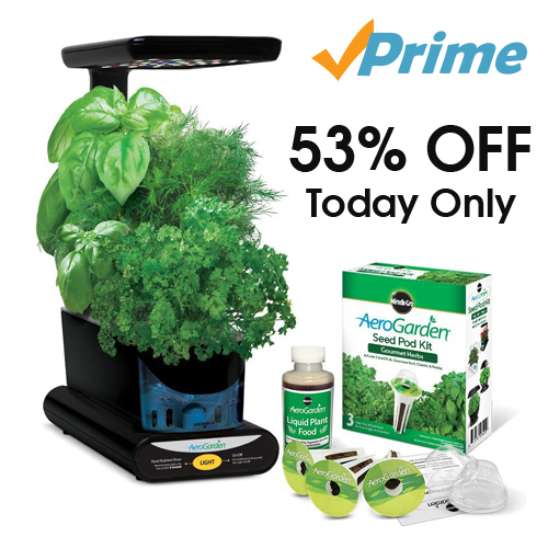 Aerogarden with Seed Kit : Only $46.99