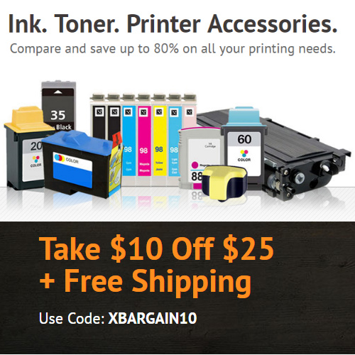 CompAndSave : $10 off $25 or more + Free S/H