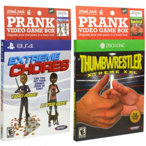 Prank Video Game Sleeve : 99¢ + Free S/H