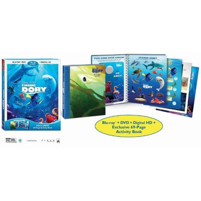 Finding Dory Blu-ray + Activity Book : $12.99 + Free S/H