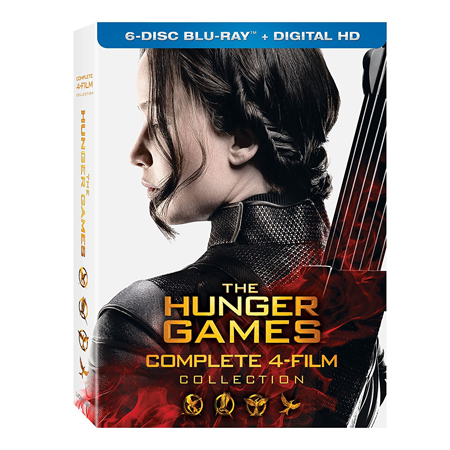 The Hunger Games: Complete Film Collection Blu-ray : $24.99