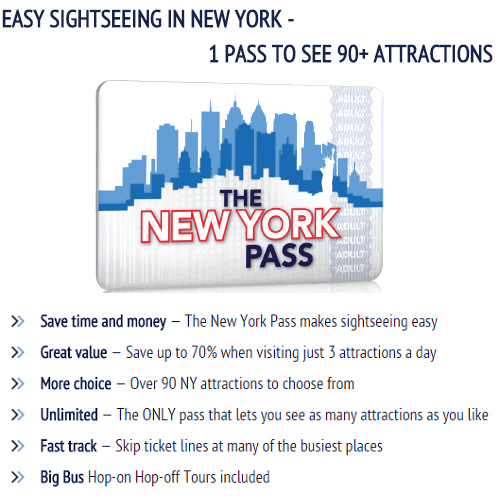 New York Pass : 20% off Sale