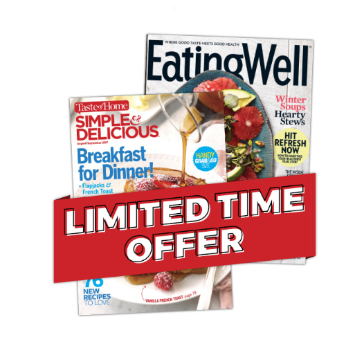71% off Simple & Delicious and Eating Well Magazine Subscription Bundle : Only $7.98