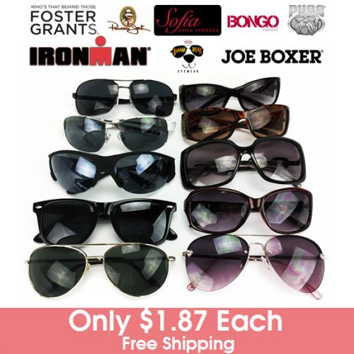 8 Pairs of Women's Sunglasses : $14.99 + Free S/H