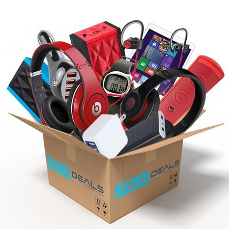 75% off Tech Surprise Box : $19.99 + Free S/H