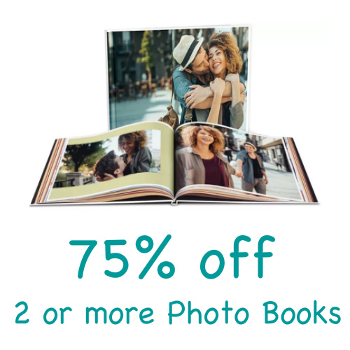 Walgreens Photo Books : 75% off 2 or more
