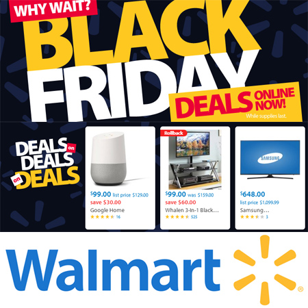 Walmart : Black Friday Sale on Now!