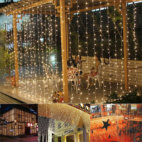 LED Light Curtain : $14.99 + Free S/H or 2 for $26 + Free S/H