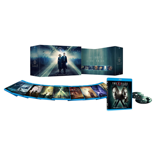 X-Files Complete Series on Blu-ray : $119.99 + Free S/H