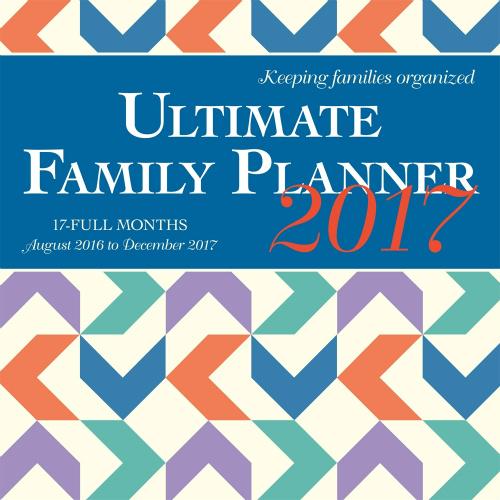 2017 Family Planner Calendar : $6.99 + Free S/H
