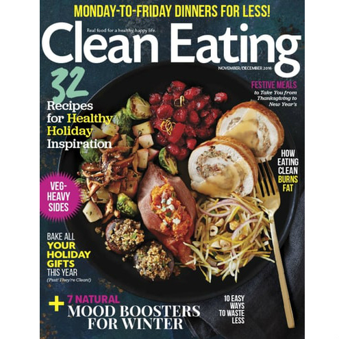 2-Year Clean Eating Magazine Subscription : Only $19.50