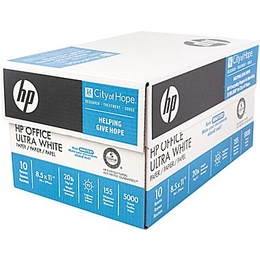 Case of HP Office Paper : $14.99 AR + Free S/H