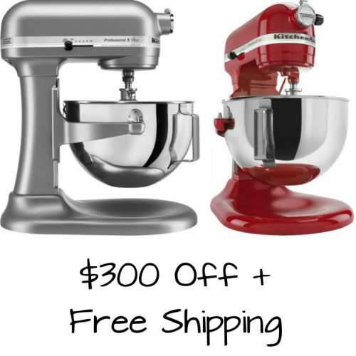 KitchenAid Professional Stand Mixers : $199.99 + Free S/H