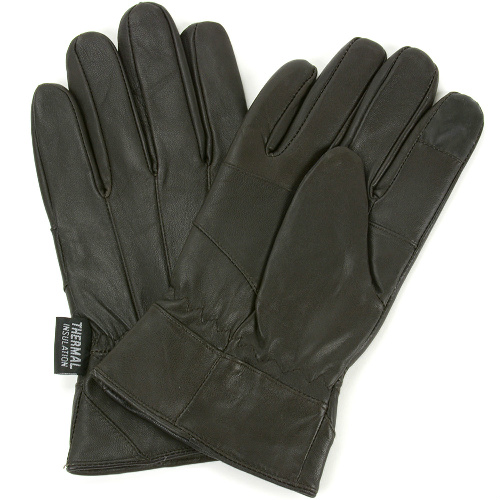71% off Men's Leather Gloves : $9.99 + Free S/H
