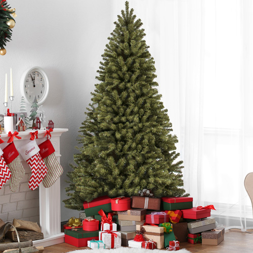 7.5′ Artificial Christmas Tree : $69.99 + Free S/H