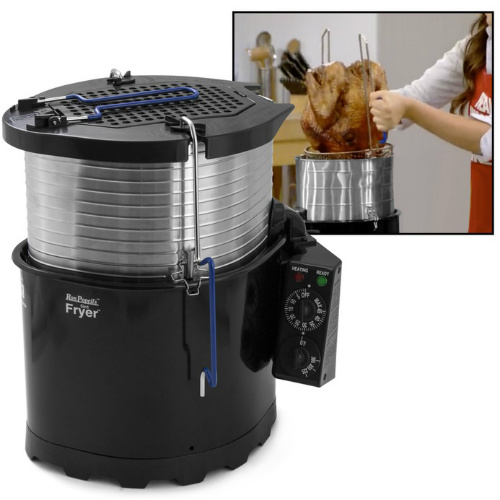 Ron Popeil's 5-in-1 Cooking System & Turkey Fryer : Only $64.99