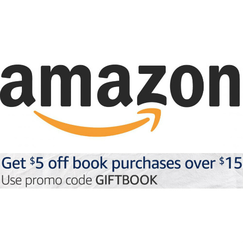 Amazon : $5 off $15 on Books