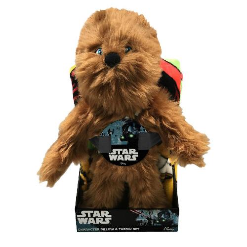 Chewie Throw & Pillow Set : $9.71 + Free S/H