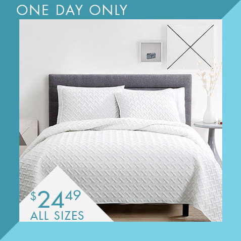 3-PC Quilt Sets : Only $24.49
