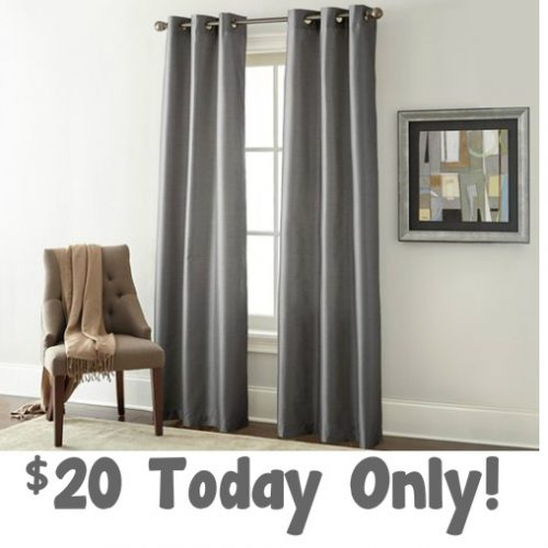Pair of Blackout Curtains : Only $19.99