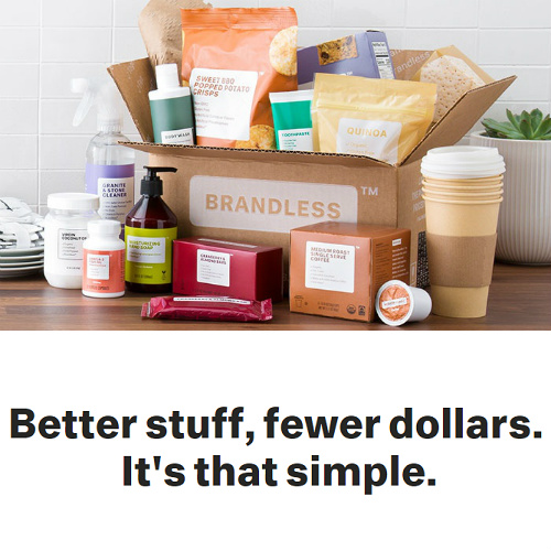 $40 to Spend at Brandless : Only $20