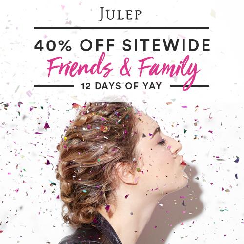 Julep : 40% off + Free S/H