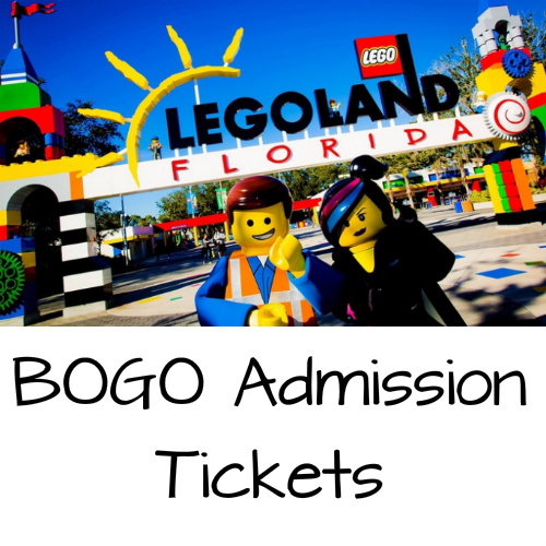 Legoland Florida Tickets : Buy 1, Get 1 Free