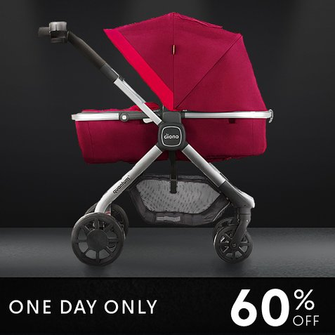 60% off Quantum Smart Seat Stroller by Diono : Only $194.79