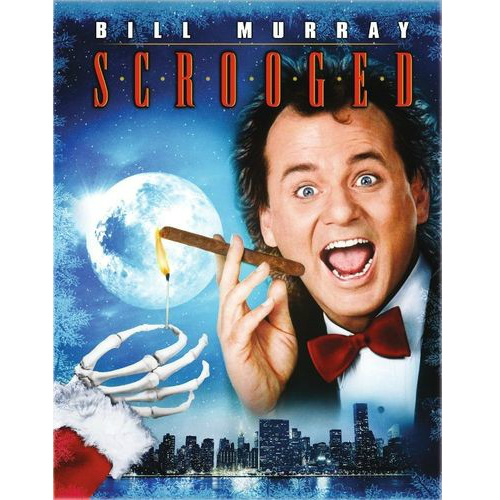 Scrooged on Blu-Ray : $3.99 + Free S/H