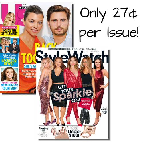 Us Weekly & People StyleWatch Bundle : Only $16.99