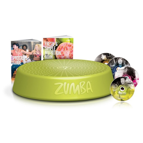 Zumba Incredible Results DVD System : Only $14.99