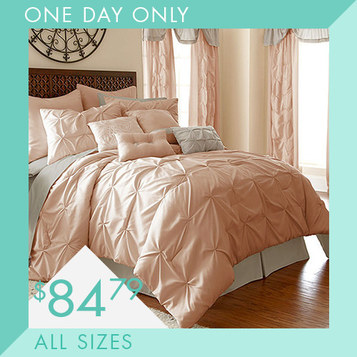 24-PC Comforter Sets : Only $84.79