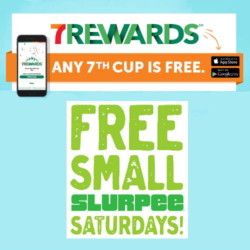 7-11 App : Free Drinks and Slurpees