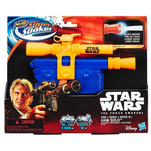 Nerf Super Soaker Han Solo Blaster : Only $7.49