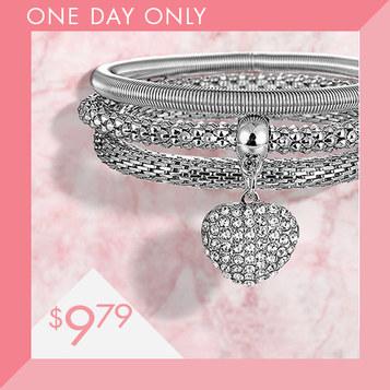 Swarovski Crystal Bracelets : Only $9.79