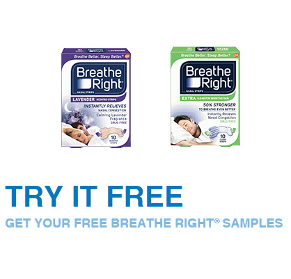 Breathe Right : Free Sample