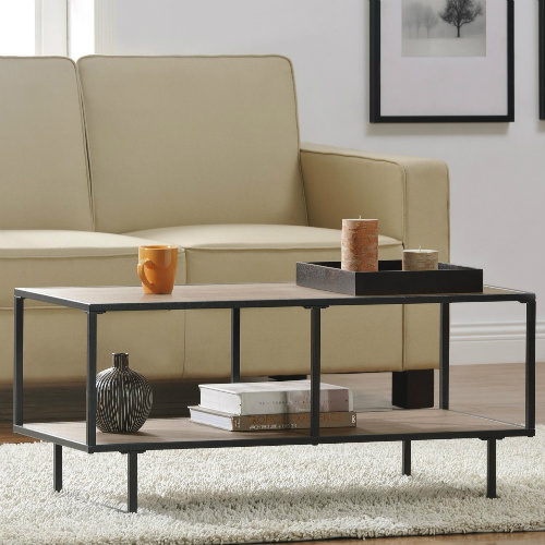53% off Industrial Coffee Table/TV Stand : $64.99 + Free S/H