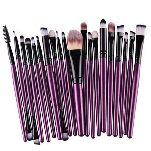 20-PC Makeup Brush Set w/Free Magazine Subscription : $5.99 + Free S/H