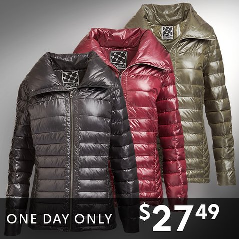 Up to 68% off Women's Down-Blend Anoraks : Only $27.49