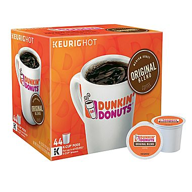 44 Cups of Dunkin' Donuts Coffee : $19.99 + Free S/H