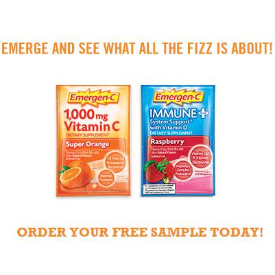 Emergen-C : 2 Free Samples