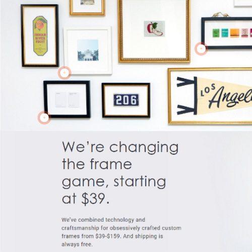 Framebridge : Framed Photos for Less
